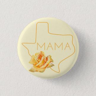 Texas mammor och den Texas mamman knäppas Mini Knapp Rund 3.2 Cm