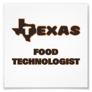 Texas matTechnologist Fototryck
