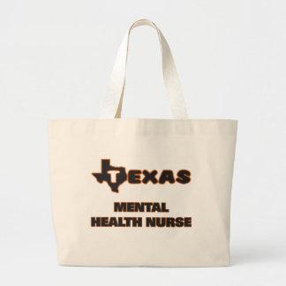 Texas mental hälsasjuksköterska jumbo tygkasse