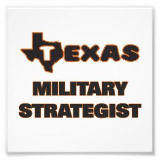 Texas militärstrateg fototryck