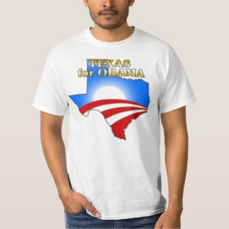 Texas Obama Tee Shirt