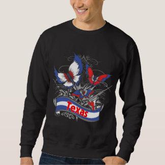 Texas patriotismfjäril sweatshirt