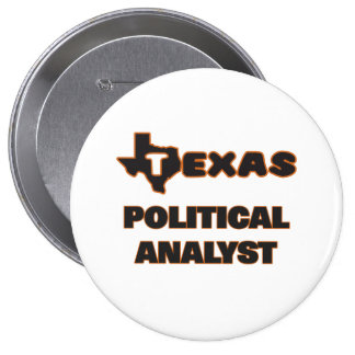 Texas politisk analytiker stor knapp rund 10.2 cm
