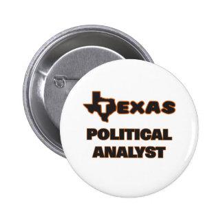 Texas politisk analytiker standard knapp rund 5.7 cm