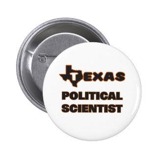 Texas politisk forskare standard knapp rund 5.7 cm