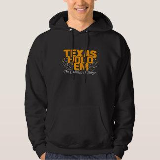 Texas rymmer dem skjortan - välj stil & färga sweatshirt med luva