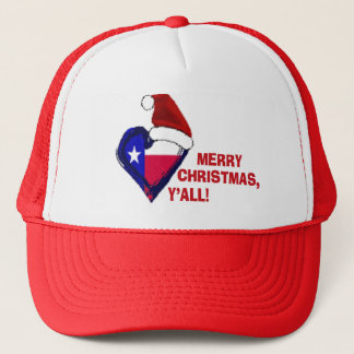Texas Santa - god jul dig! Keps