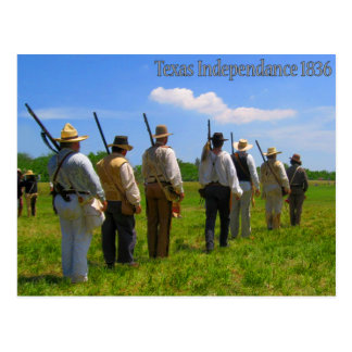 Texas självständighet 1836 vykort