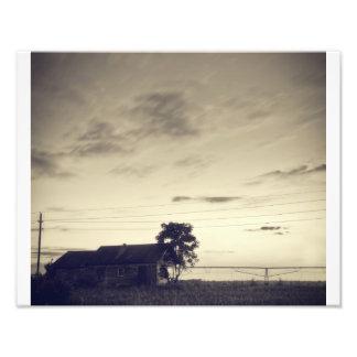 Texas skymning fototryck