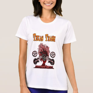 TEXAS SOPORMIKROUTSLAGSPLATS - damer T-shirts