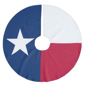 Texas statlig flagga - högkvalitativ autentisk julgransmatta borstad polyester