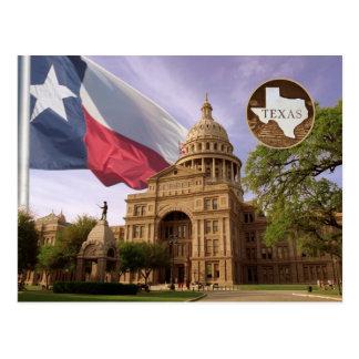 Texas statlig huvudstadbyggnad, Austin, TX Vykort