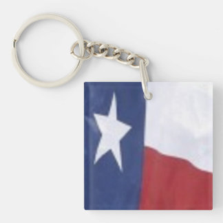 Texas stil: Kvadrera keychain