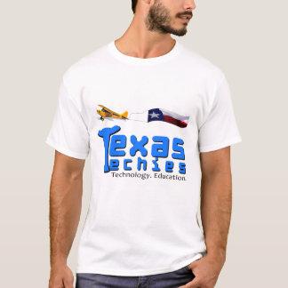 Texas Techies logotyp och flygplan Tee