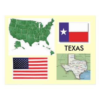 Texas USA Vykort