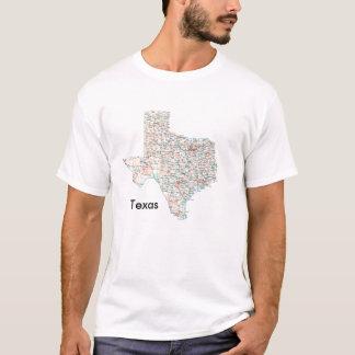 Texas-väg-karta Texas Tshirts