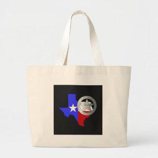 TexaspolisTeaparty - svart Jumbo Tygkasse