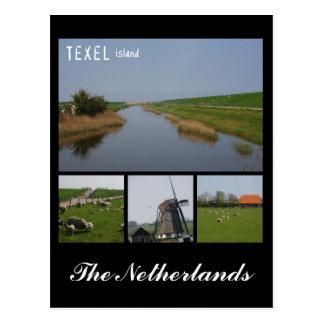 Texel ö vykort