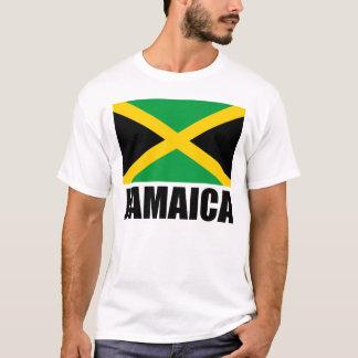 Text för Jamaica flaggasvart T-shirts