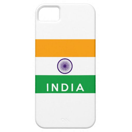 text för namn för symbol för india landflagga iPhone 5 fodraler