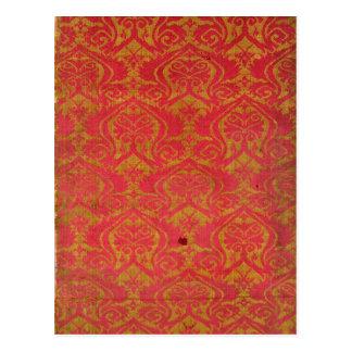 Textilfragment, 14th/15. århundrade vykort