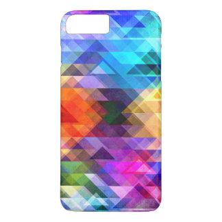 Textural geometri av färg