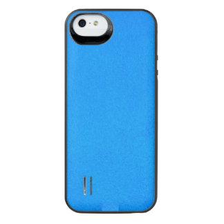 Texturerad Aqua iPhone SE/5/5s Batteri Skal