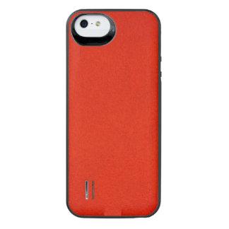 Texturerad Crimson iPhone SE/5/5s Batteri Skal