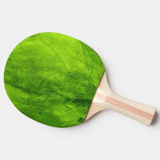 Texturerad grönt pingisracket