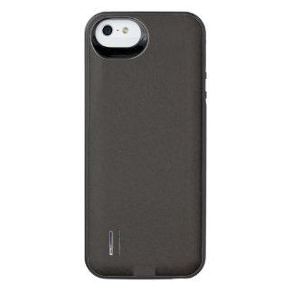 Texturerad kosmisk svart iPhone SE/5/5s batteri skal