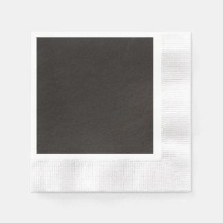 Texturerad kosmisk svart servett