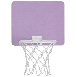 Texturerad lätt - lilafärg Mini-Basketkorg