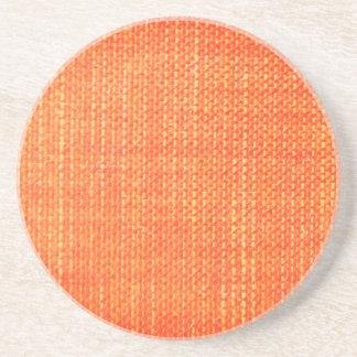 Texturerad orange underlägg