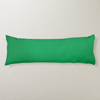 Texturerad smaragd kroppskudde