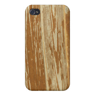 Texturerad träplanka iPhone 4 skal