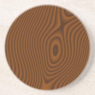 Texturerad Woodgrain Underlägg Sandsten