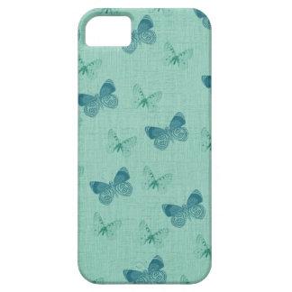 Texturerade blåttfjärilar iPhone 5 Case-Mate cases