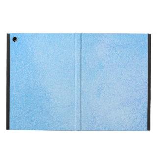 Texturerade himmelblått iPad air skal