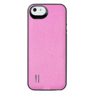 Texturerade nätt rosor iPhone SE/5/5s batteri skal