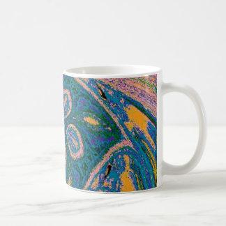 Texturerade Spinwheel Kaffemugg