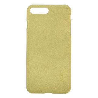 Texturerat guld- iPhone 7 plus skal