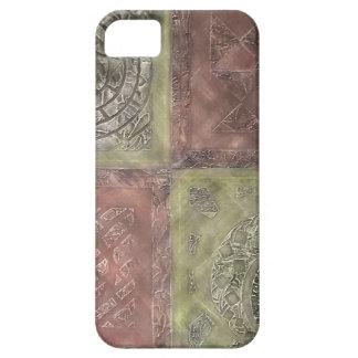Texturerat kvadrerar iPhone 5 Case-Mate cases