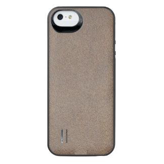 Texturerat röka iPhone SE/5/5s batteri skal
