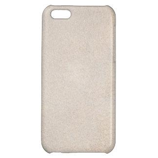 Texturerat silvrigt iPhone 5C mobil skal