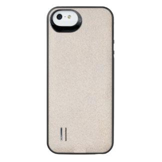Texturerat silvrigt iPhone SE/5/5s batteri skal