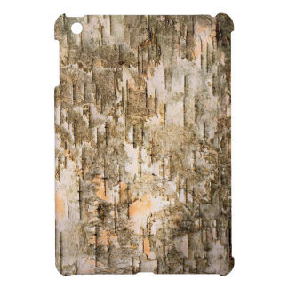 Texturerat trädskäll iPad mini mobil skal