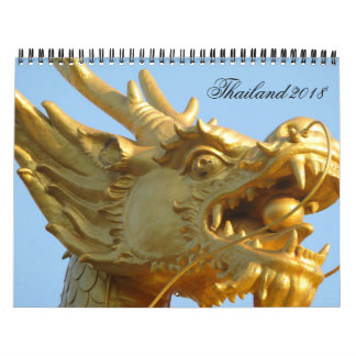 Thailand 2018 kalender
