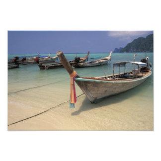Thailand Andaman hav, ö för Ko PhiPhi, Fototryck