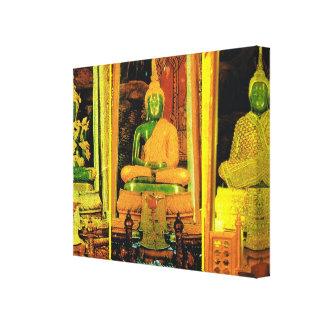 Thailand Bangkok, smaragd Buddha Canvastryck