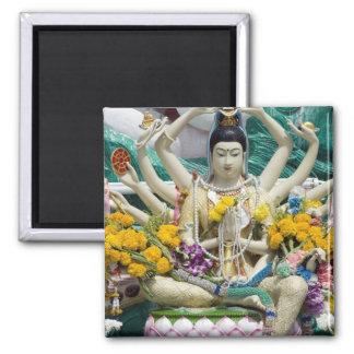 Thailand Ko Samui aka Koh Samui). Wat Plai 2 Kylskåps Magneter
